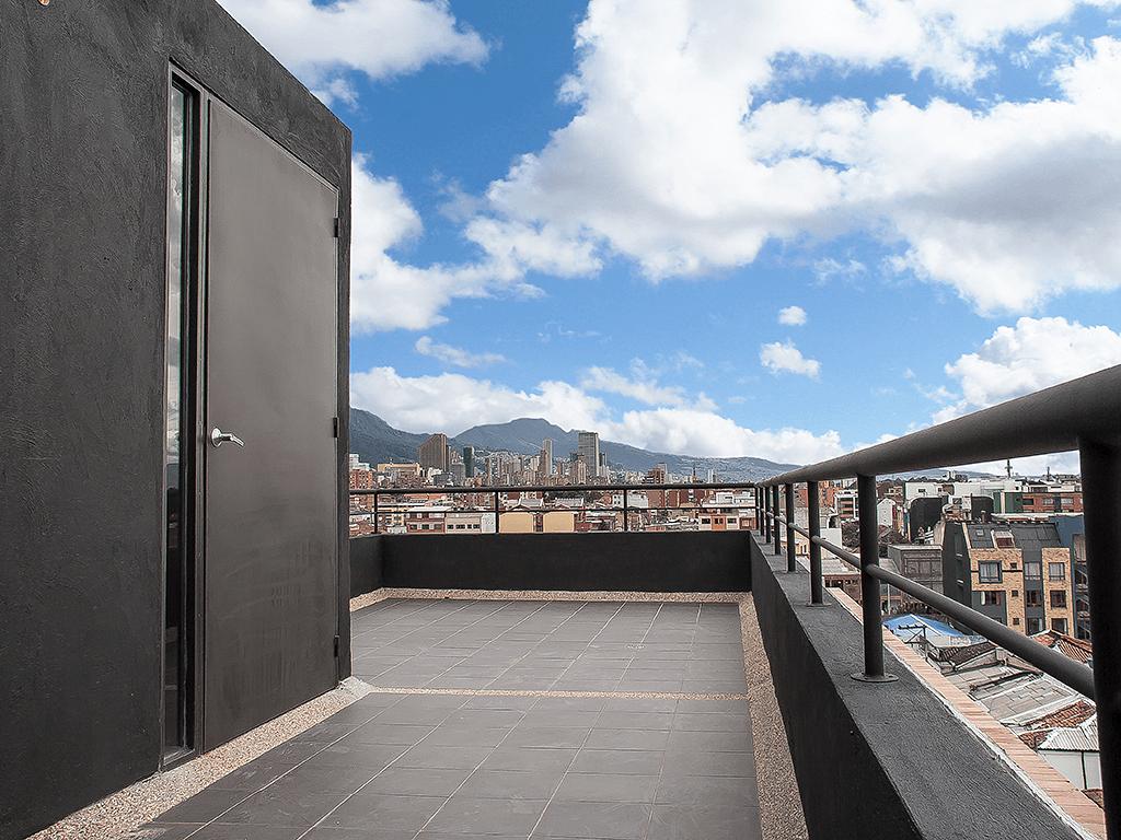 Terraza exterior - Edificio Park Building, Bogotá