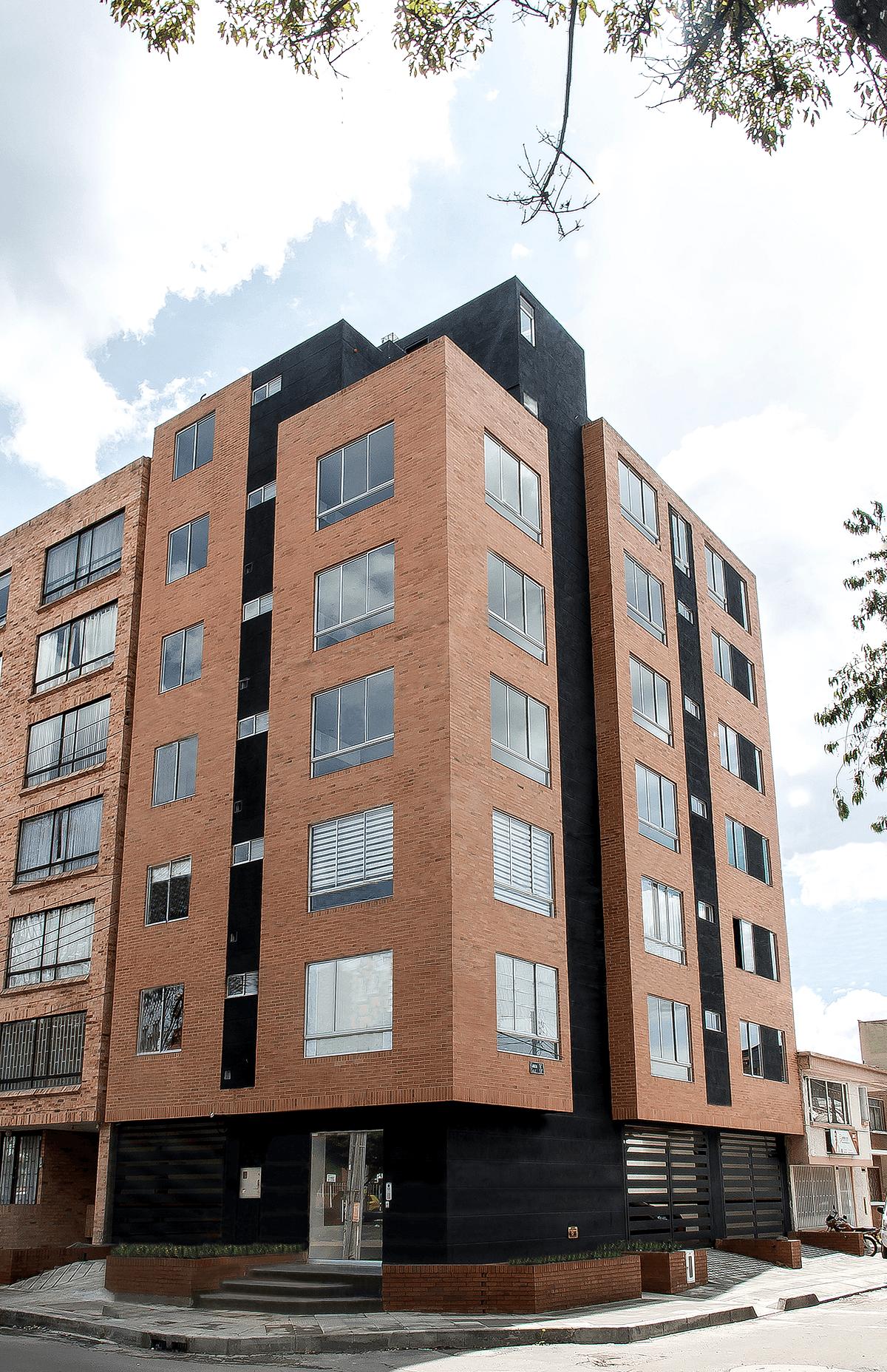 Fachada - Edificio Park Building, Bogotá